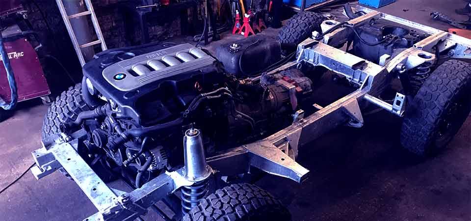 BMW M57 engine Land Rover conversion company