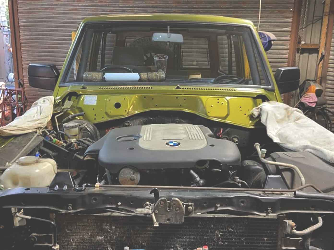 BMW conversions done by MW Machines 4x4
