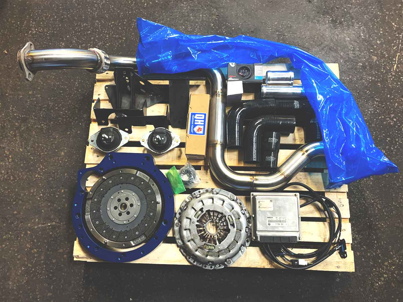 BMW engine conversion DIY kit