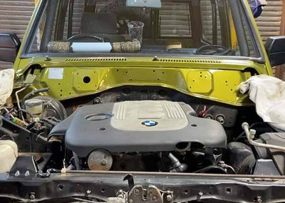 Land Rover Discovery BMW Engine Conversion