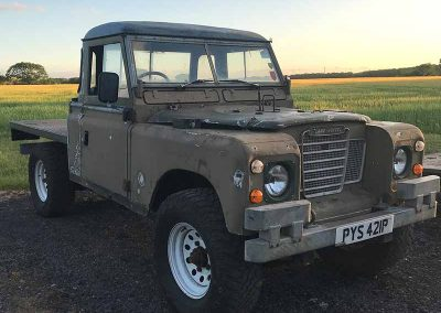 Land Rover Series Engine Conversion to BMW M57 project